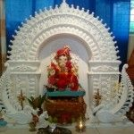 Ganpati Decoration Ideas for Home / Mandap
