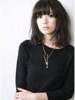 【GARDEN JYO】黒髪でも重く見えないボブミディパーマスタイル