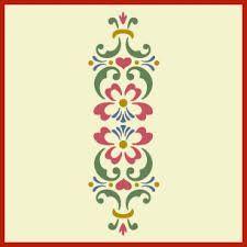 Border? Image result for rosemaling pattern silhouette