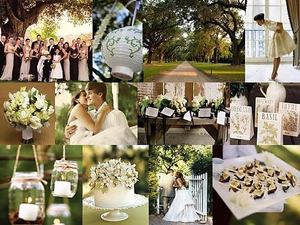 Nature Themed Wedding Ideas