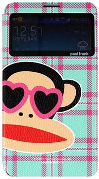 For Samsung Paul Frank CheckWindow Mint
