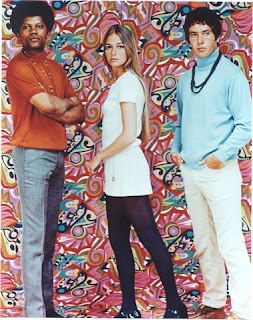The Mod Squad series, which ran on ABC from 1968-73, told the story of Pete Cochran (played by Michael Cole), Linc Hayes (Clarence Williams III), and Julie Barnes (Peggy Lipton): three young, undercover cops who worked under the guidance of Capt. Adam Greer (Tige Andrews).: 70S Fashion, Black Guys, Michael Cole, Cops, 60S, Baby Boomer, The Mod Squad, Peggy Lipton, Themodsquad