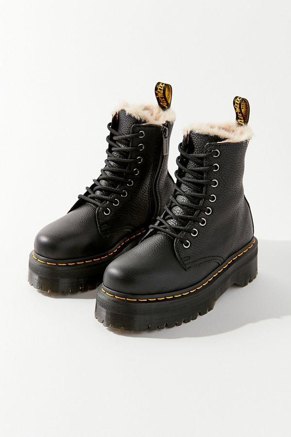 Dr. Martens Jadon Platform 8 Eye Boot | Urban Outfitters