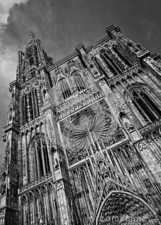 Strasbourg Cathedral - Download From Over 50 Million High Quality Stock Photos, Images, Vectors. Sign up for FREE today. Image: 79494719