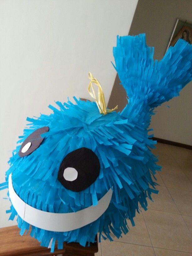 Whale piñata