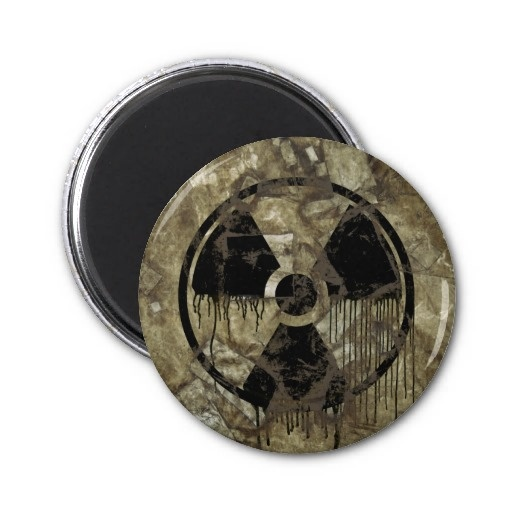 AFTERMATH MAGNETS. A Post-apocalyptic, fully customizable design by BannedWare.