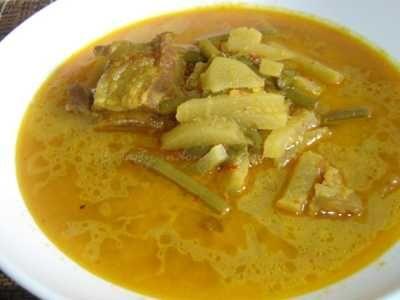 Sayur Lodeh Labu Siam - Simak rahasia cara membuat bumbu masakan resep sayur lodeh labu siam kacang panjang asli sunda betawi jawa timur atau tengah yang paling enak dan sederhana.