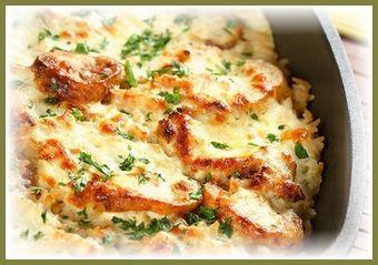 Картофельная запеканка с курицей - простое и сытное блюдо на каждый день
