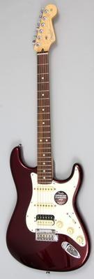 Bordeaux Metallic - Rosewood Fingerboard Fender American Standard Stratocaster HSS Shawbucker - Yandas Music - 1