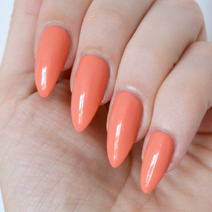 Pastel Orange Nail Polish Essie: 122 Best Orange Nails Images On Pinterest