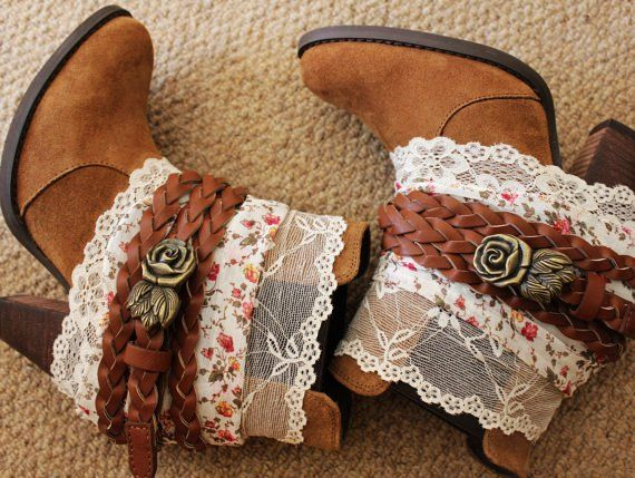 Lace and leather; these dressed up boots two-stepped right into our hearts!