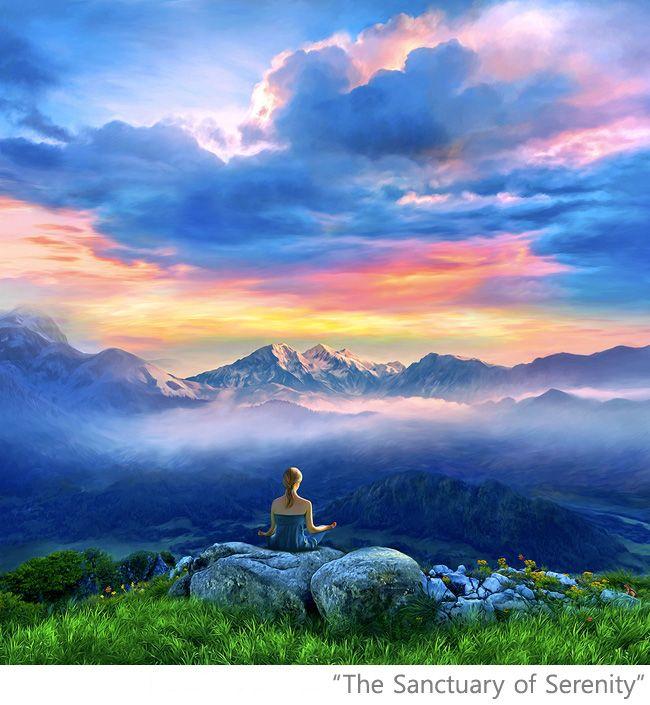 Meditation Yoga Artwork Paintings Posters Spiritual Buddha Buddhist Buddhim Peac Beautiful Landscape Photography Beautiful Photos Of Nature Buddha Art Painting Beautiful nature wallpaper yoga