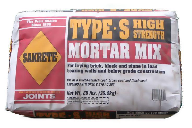 type s mortar