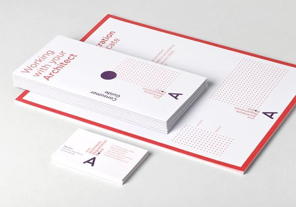 Graphic Design Inspiration for Visual Identity. Creative agency Toko designed the brand identity for the NSW Architects Registration Board. The work includ
