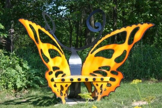 18 best butterfly bench images on Pinterest | Butterflies ...