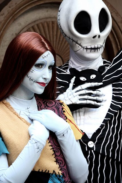 jack and sally - Halloween Jack Costume