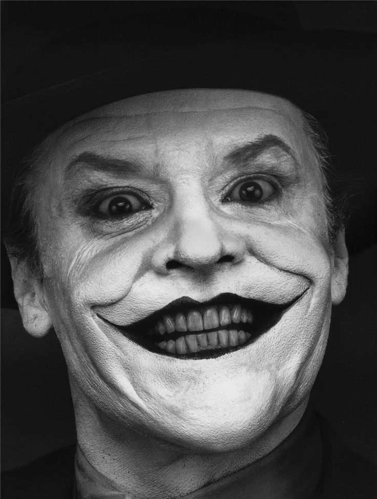 Jack Nicholson as Joker he was my favorite joker