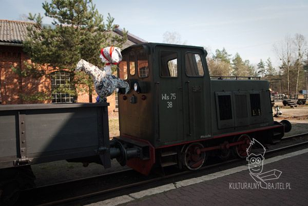 Zabytkowa Stacja Kolejki Wąskotorowej - Rudy