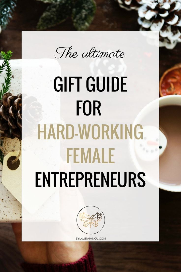 OMG, I love this! I've just found the ultimate holiday gift guide for hard-working female entrepreneurs and it's fabulous! Great gift ideas for the girl boss in your life. These presents will make her so happy this holiday season.