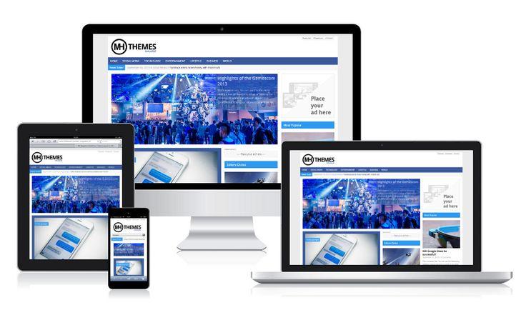 MH Magazine – Responsive WordPress Theme