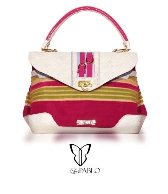 Handbags - bolso -Terciopelo belga - cuero y charoles italianos