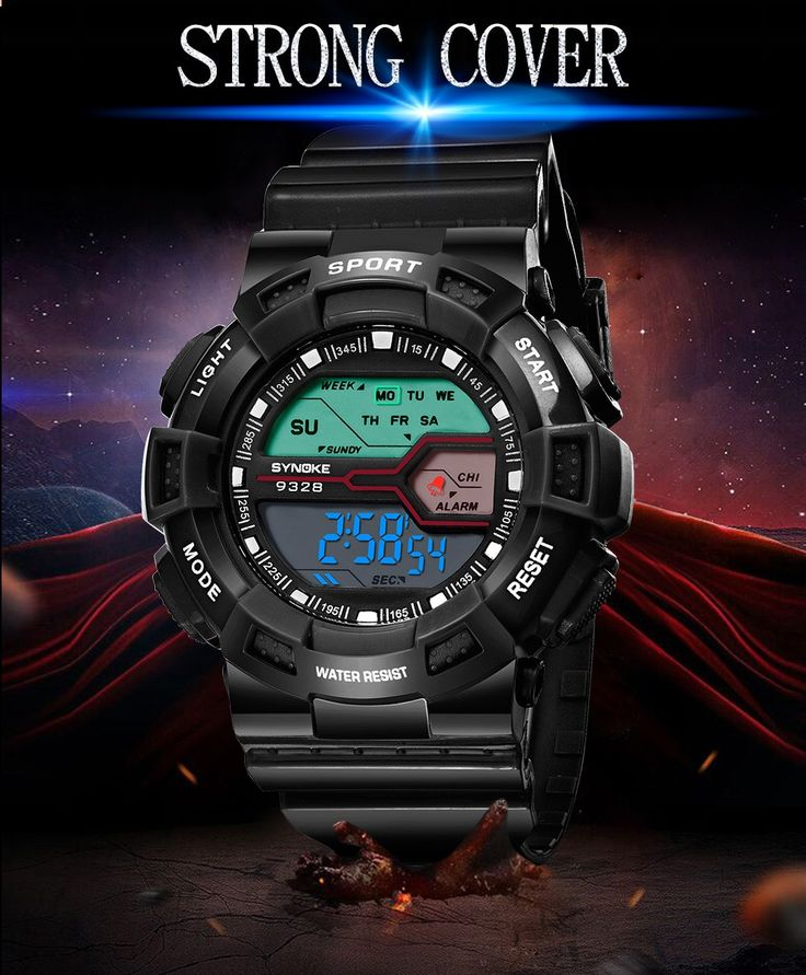 Cheap Array SYNOKE Fashion Sport Children Watches 3ATM Water-resistant Digital Backlight Students Kids Wristwatch Stopwatch Alarm Online Shopping | Tomtop