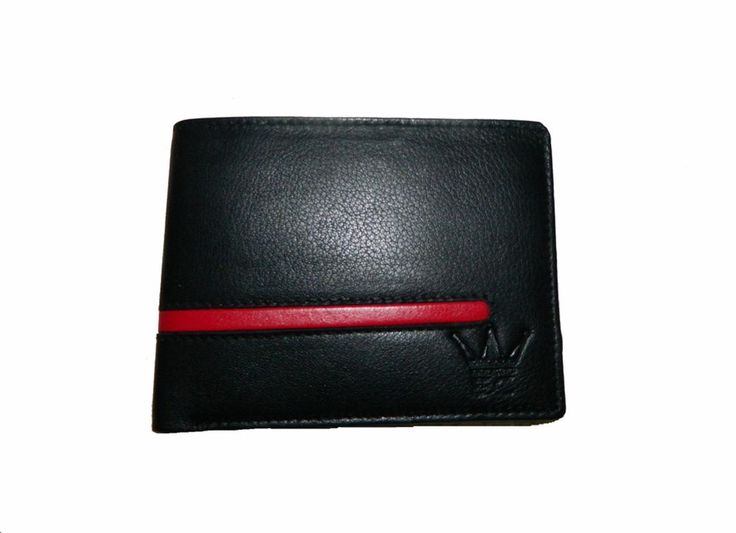 Leather Wallet For Men With Card Slots And Coin Pocket Color Black