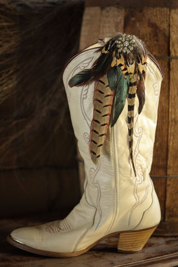 Feather Boot Clip by Coonskin June Co.