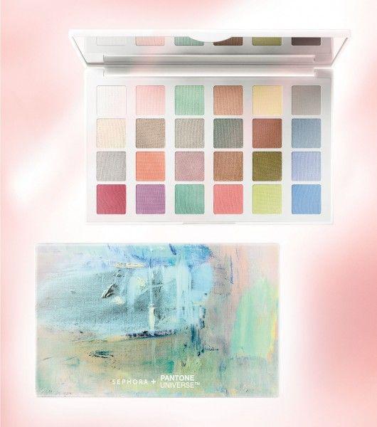 SEPHORA + PANTONE UNIVERSE Color of the Year 2016 Modern Watercolors Eye Palette ($39.00)