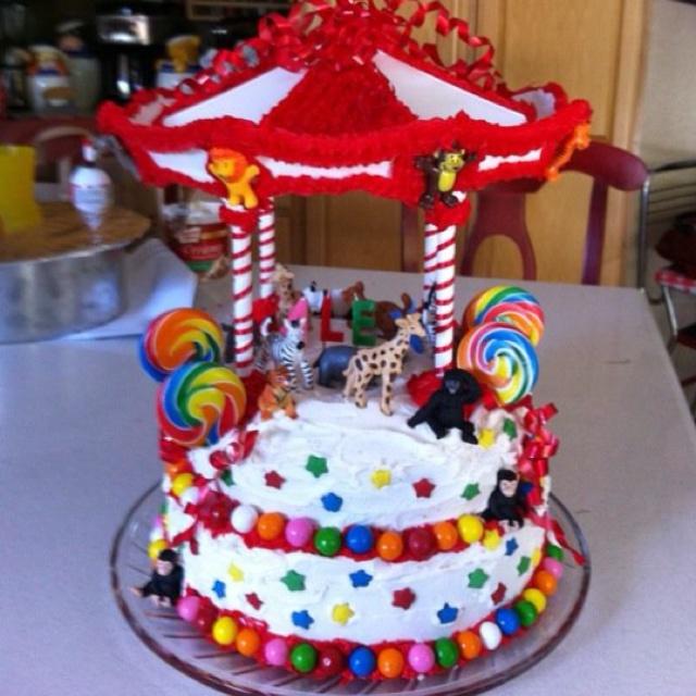Carnival cake for Alex!