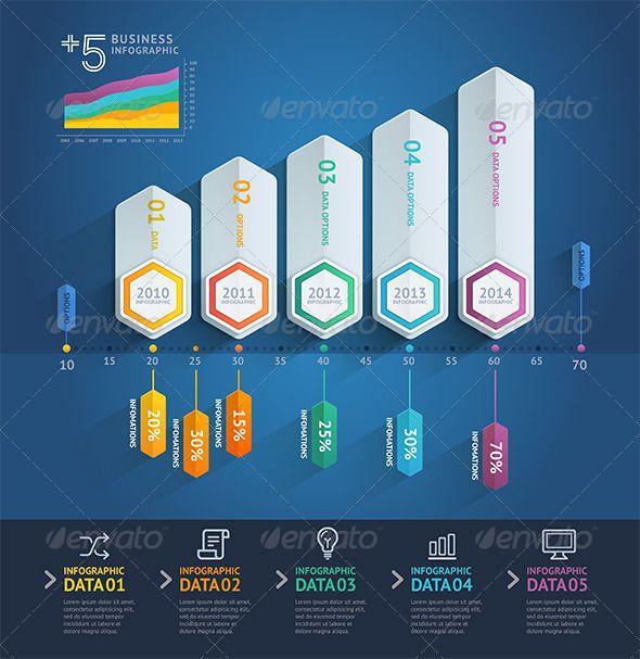 Business Arrow Infographics Template #design Download: http://graphicriver.net/item/business-arrow-infographics-template/8696194?ref=ksioks