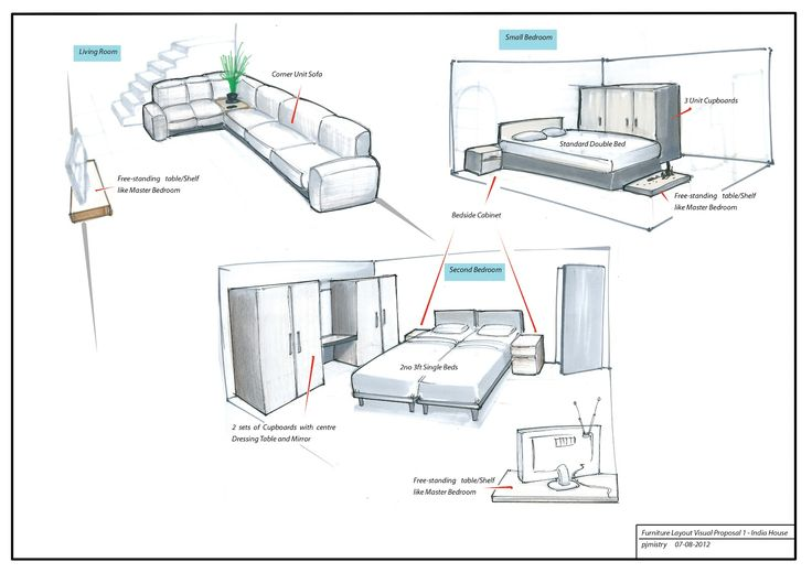 interior designing sketches home furniture sketch interior design
