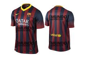 Resultado de imagen para fc barcelona uniforme 2013