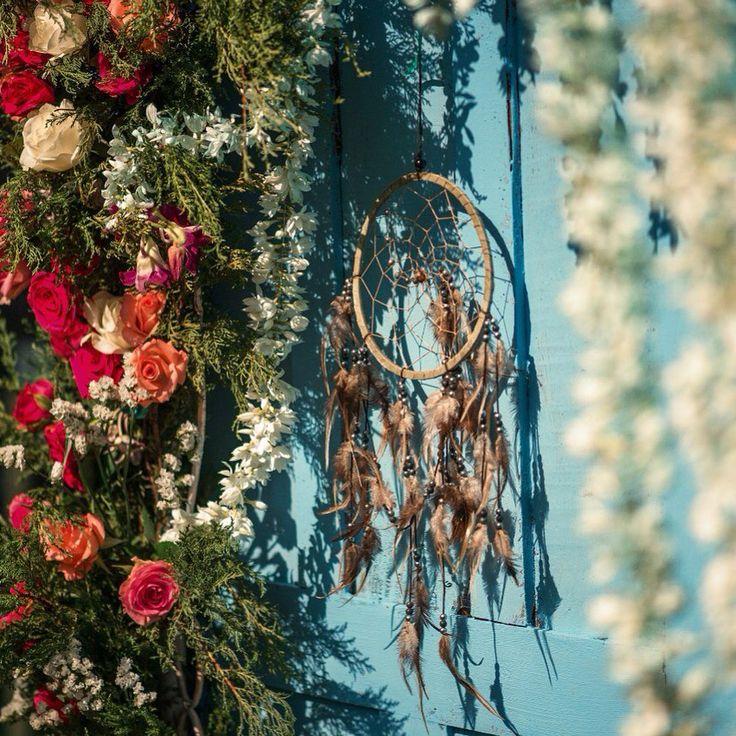 Boho wedding decor by  Goamoon.ru