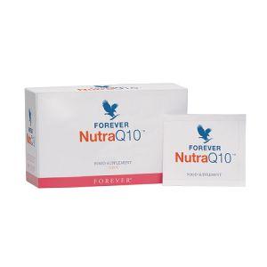 shop.foreverliving.it FOREVER NUTRA Q10 Art. 312 CC 0.121 Il nuovo integratore Nutra Q10, da usare miscelato con Aloe Vera Gel, fornisce tre elementi importanti per il benessere cardiovascolare. Aiuta a mantenere ottimali i livelli di omocisteina, fornisce il coenzima Q10 importante per il corretto funzionamento del metabolismo e antiossidanti salutari per il cuore. 30 bustine da 3,5 gr.    EUR 27,17