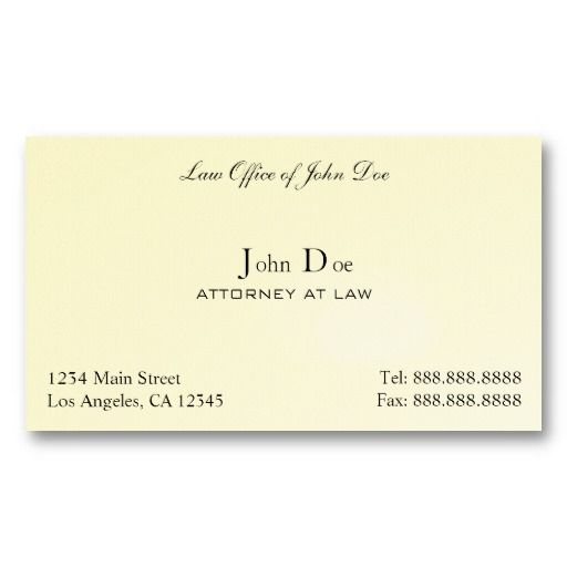 Best Business Cards For Lawyers Images On Pinterest Lawyers - Office business card template