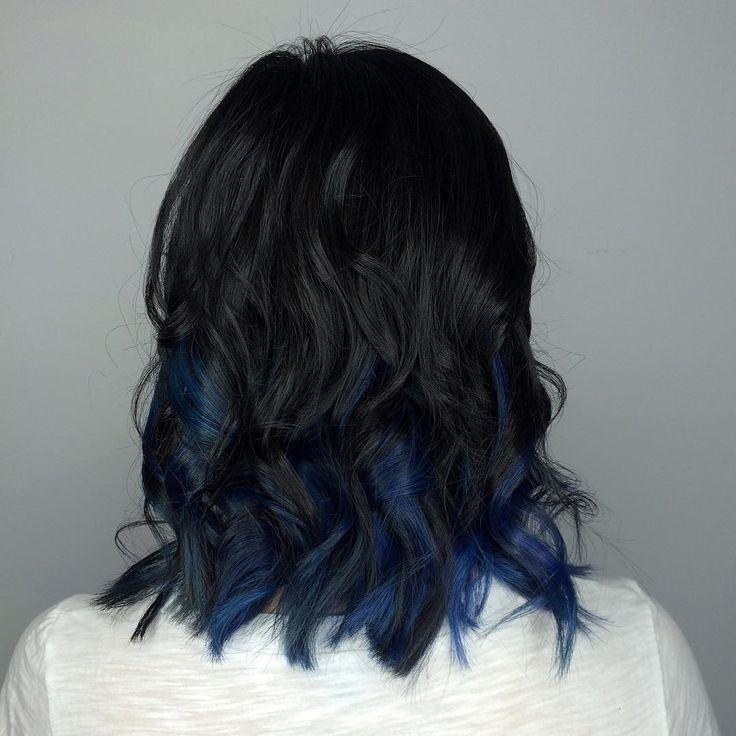 25 Best Ideas About Blue Purple Bedroom On Pinterest: 25+ Best Ideas About Blue Hair Streaks On Pinterest
