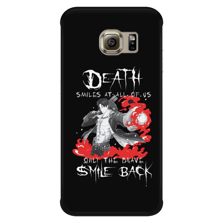 "One Piece - Ace : "" Only The Brave Smile Back "" - Android Phone Case - TL01267AD"