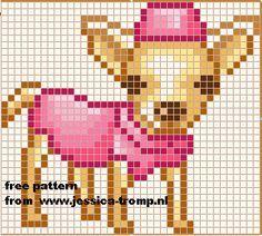 Chihuahua perler beads - Google zoeken