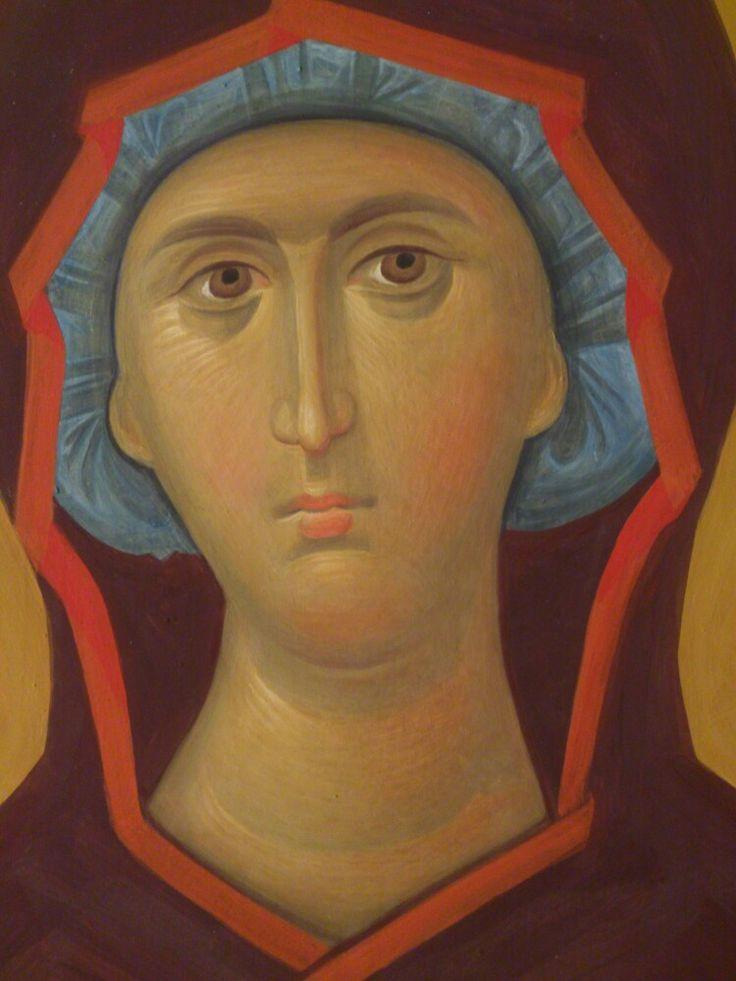 Богородица Николо-Угрешский монастырь фреска Солдатов А.Н.