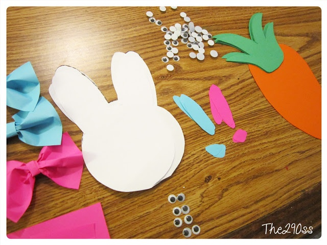 Toddler crafts for Easter, they will develop important motor skills and you will have cute crafts in your house. FREE PATTERNS!