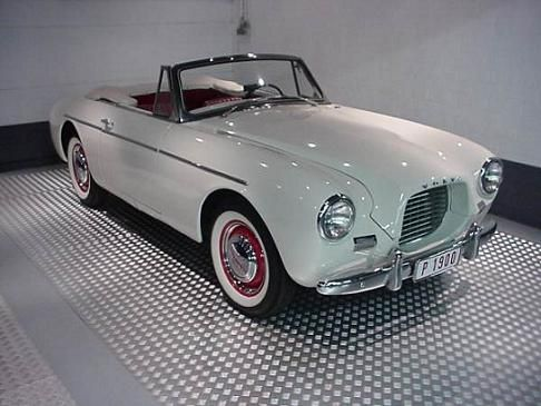 The P1900 Is Volvou0027s Only 2 Seater Sports Car, Built On A Tubular Frame