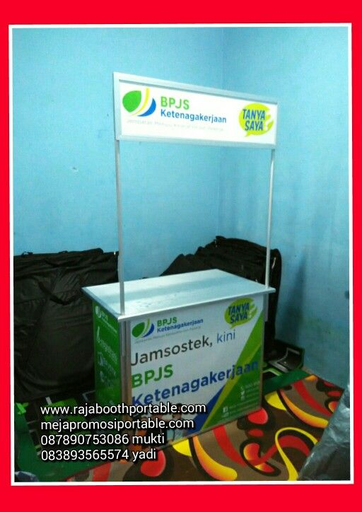 Raja booth portable  www.rajaboothportable.com www.mejapromosiportable.com