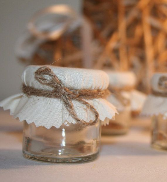 Do It Yourself Mini Jar Wedding Favour Fill with Preserves