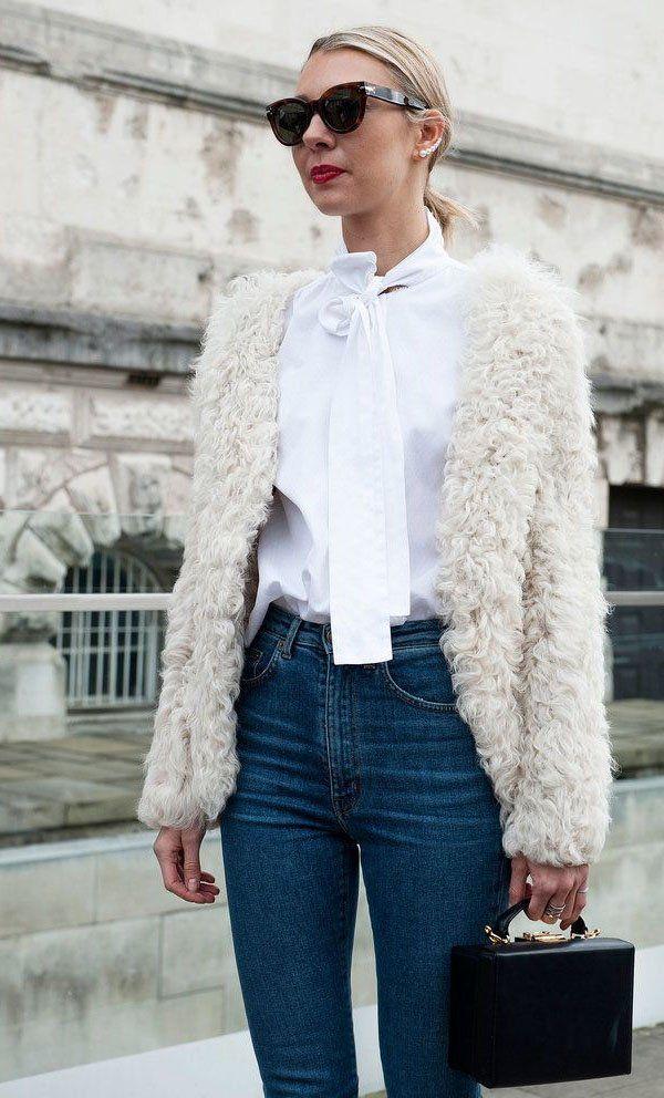 8 Ocasiões para Usar Casaco Fluffy
