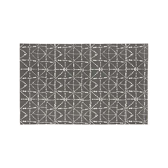 Tiger Diamond Splatter 6'x9' Rug in All Paola Navone | Crate and Barrel