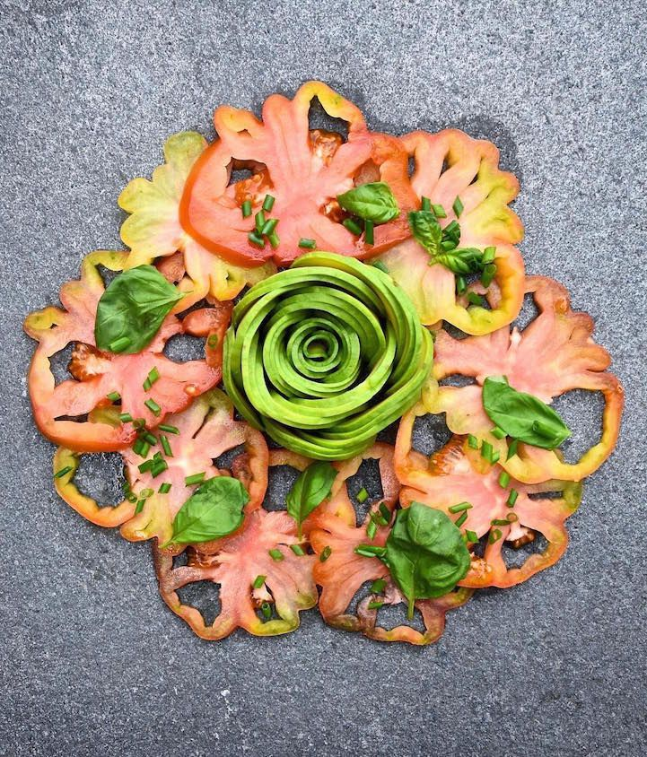 Earlier this year, we were fascinated by food blogger Colette Dike (aka @fooddeco) and her ability to transform avocados into edible masterpieces. Since th