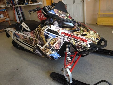 Snowmobile Full Wrap for Roger Mathews #coastalsign # ...