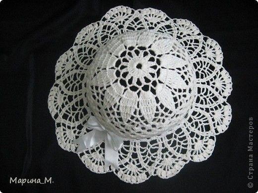 Вязание крючком - Вязаные летние шляпы