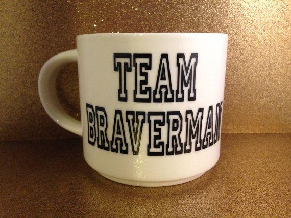 Team Braverman Mug | Parenthood Tv Show | Coffee | Tea | Handmade | Gift | TV Show | Valentine | Valentine's Day | Finale